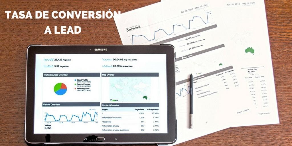 metrica-tasa-de-conversion-a-lead